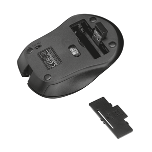 Wireless optical mouse Trust Mydo Silent Click