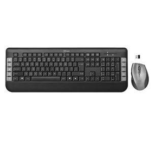Bezvadu klaviatūra + pele Tecla, Trust