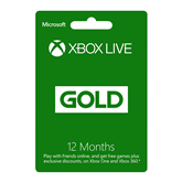 Xbox Live Gold Membership (12 Months)