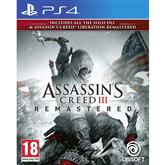 Spēle priekš PlayStation 4, Assassins Creed III + Liberation Remastered