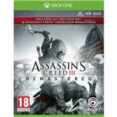 Spēle priekš Xbox One, Assassins Creed III + Liberation Remastered