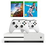 Spēļu konsole Microsoft Xbox One S (1TB) + 2 kontrolieri