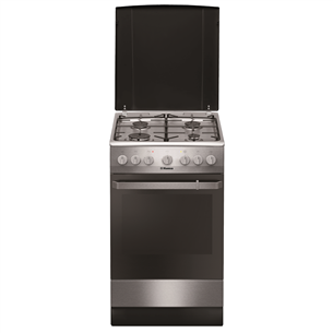 Gas cooker with electric oven, Hansa (50 cm) FCMX581009