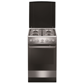 Gas cooker with electric oven, Hansa / 50 cm