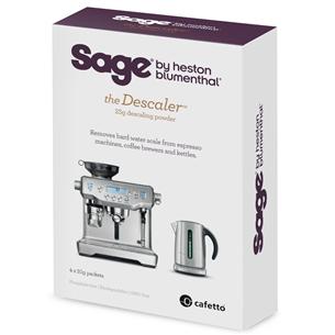 Atkaļķotājs kafijas automātiem the Descaler, Sage