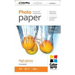 Fotopapīrs A4, ColorWay / 230 g/m2, 20 lpp