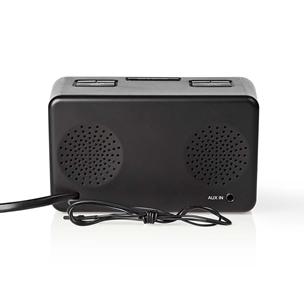 Radio modinātājs CLAR002BK, Nedis
