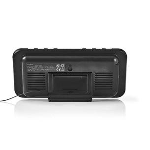 Radio modinātājs CLAR004BK, Nedis