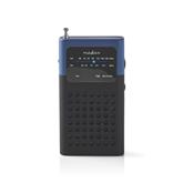 Портативный радиоприёмник RDFM1100BU, Nedis