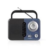 Radio RDFM1300BU, Nedis