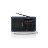 Portatīvais radio atskaņotājs RDFM2100BU, Nedis
