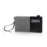 Portatīvais radio atskaņotājs RDFM2210BK, Nedis
