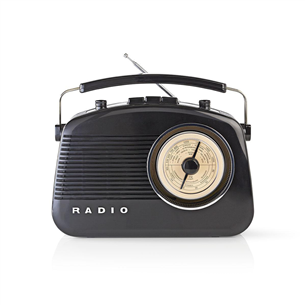 Radio RDFM5000BK, Nedis