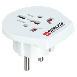 Ceļojuma adapteris World to Europe, Skross 7640166320111