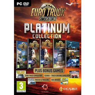 PC game Euro Truck Simulator 2 Platinum Collection 5055957701925