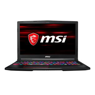 Portatīvais dators GE63 9SE Raider RGB, MSI