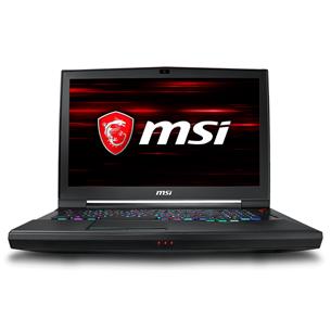 Portatīvais dators GT75 9SF Titan, MSI
