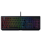 Klaviatūra BlackWidow Green Switch, Razer / RUS