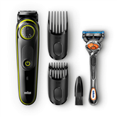 Beard trimmer Braun BT3041 + Gillette Fusion razor