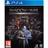 Spēle priekš PlayStation 4, Middle Earth: Shadow of War Silver Edition