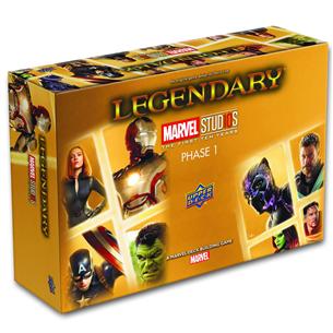Kāršu spēle Legendary Marvel Studios the First Ten Years Phase 1