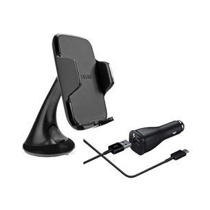 Auto telefona turētājs ar lādētāju, Samsung / Type-C