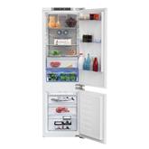 Iebūvējams ledusskapis, Beko / augstums: 177 cm