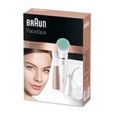 Эпилятор для лица и щеточка для пилинга, Braun