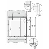 Iebūvējama elektriskā cepeškrāsns, Miele / tilpums: 76 L
