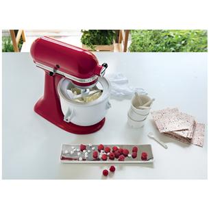Bundle Mixer  + ice cream making attachment KitchenAid Artisan