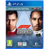 Spēle priekš PlayStation 4 F1 2019 Anniversary Edition