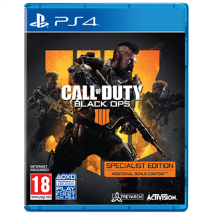 Spēle priekš PlayStation 4 Call of Duty Black Ops 4 Specialist Edition