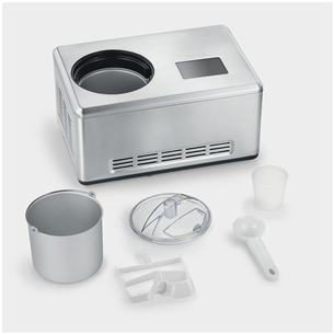 Ice cream maker with 2 bowls Severin