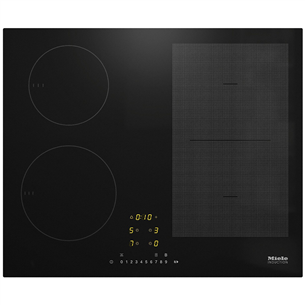 Built-in induction hob Miele KM7404FX
