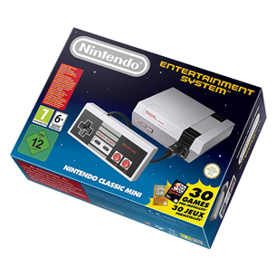 Spēļu konsole NES Classic, Nintendo + 30 spēles