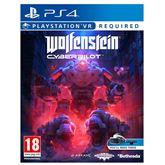 Spēle priekš PlayStation 4 VR Wolfenstein: Cyberpilot