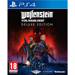Spēle priekš PlayStation 4 Wolfenstein: Youngblood Deluxe Edition