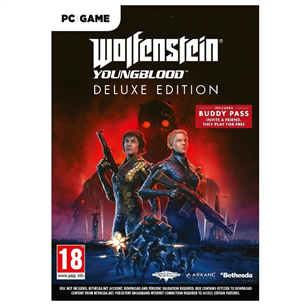 Компьютерная игра Wolfenstein: Youngblood Deluxe Edition