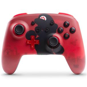 Nintendo Switch controller PowerA Mario Silhouette 323113
