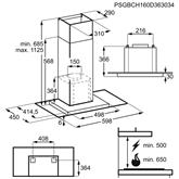 Tvaika nosūcējs, AEG / 779m³/h