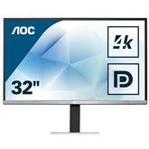 31,5 4K Ultra HD LED MVA monitors, AOC