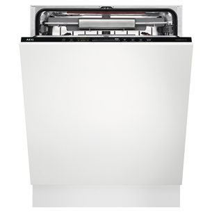 Iebūvējama trauku mazgājamā mašīna, AEG / 13 komplektiem