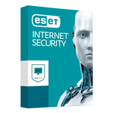 ESET Internet Security / 2 lietotāji, 12M,18M renew