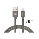 Vads QuickCharge USB-lightning, Swissten