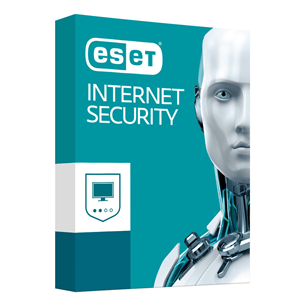 ESET Internet Security / 1 lietotājs, 12M,18M renew