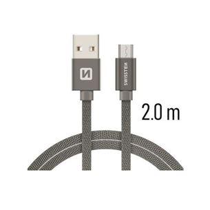 Vads QuickCharge USB-microUSB, Swissten