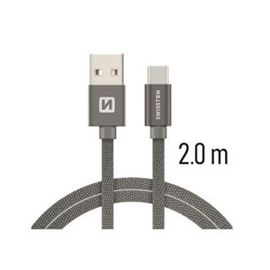 Vads QuickCharge USB-USB-C, Swissten