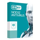 ESET NOD32 Antivirus / 2 пользователя, 12M, 18M renew