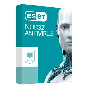 ESET NOD32 Antivirus / 1 lietotājs, 12M,18M renew
