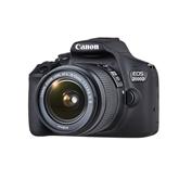 Digitālā spoguļkamera EOS 2000D + objektīvs EF-S 18-55mm IS II, Canon